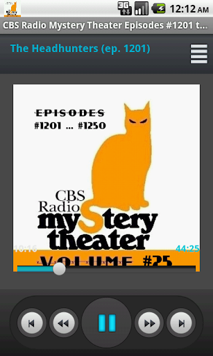 CBS Radio Mystery Theater V.25