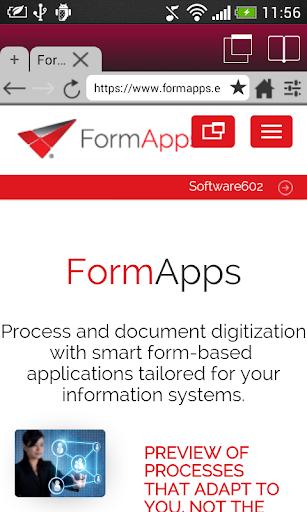 FormApps Mobile