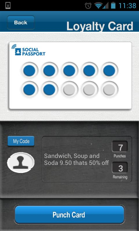 Social Passport- screenshot