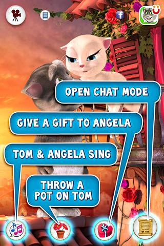 Tom ama a Angela - screenshot