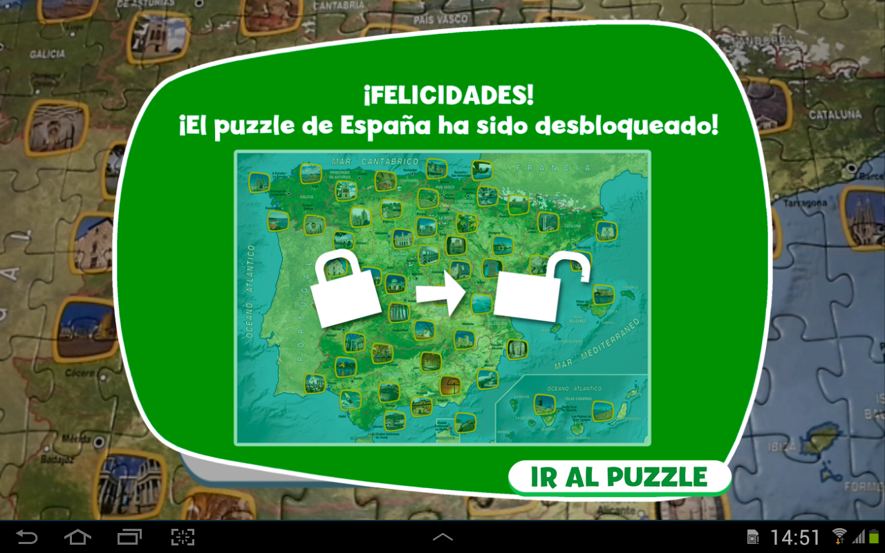 Appuzzle España - screenshot