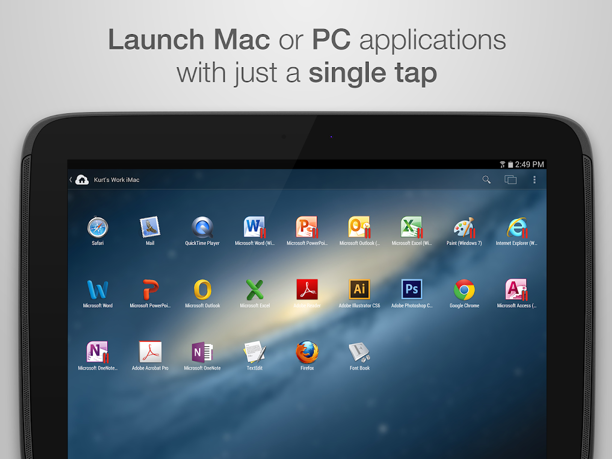 Parallels Access - screenshot
