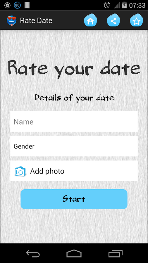 Rate Date - Android Apps on Google Play