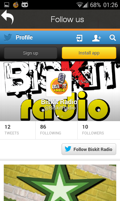 Biskit-Radio 17