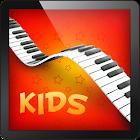 Niños música de piano icon