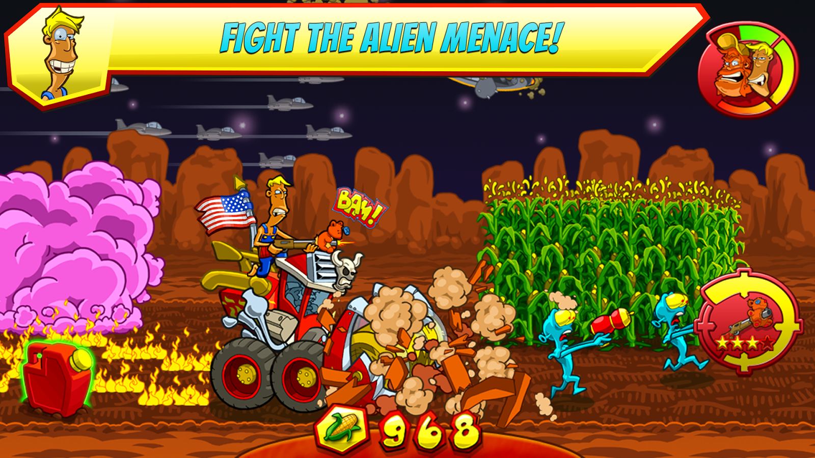Farm Invasion USA- screenshot