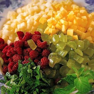 Diced Fresh Fruit Salad