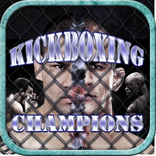 運動必備App KICKBOXING MMA CHAMPIONS FIGHT LOGO-綠色工廠好玩App