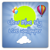 Clear Blue Sky Live Wallpaper