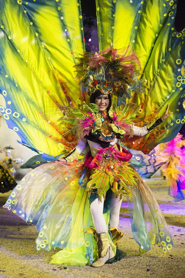 Spring by Santo Thie - News & Events World Events ( chingay, parade, fashion, female, green )
