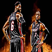 LeBron & Wade Live Wallpaper