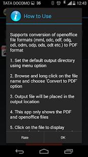 玩免費商業APP|下載Open Office to PDF Converter app不用錢|硬是要APP
