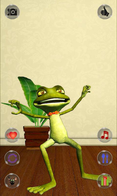 Talking Frog Free - screenshot