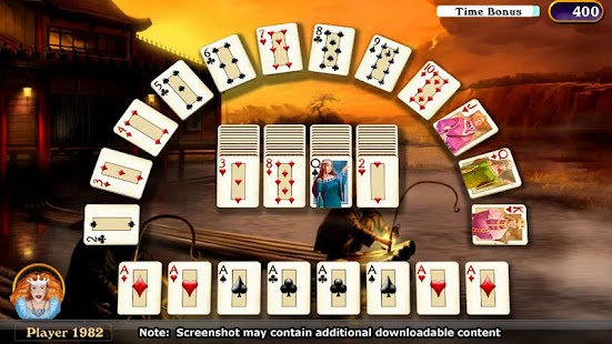 Hardwood Solitaire IV- screenshot thumbnail