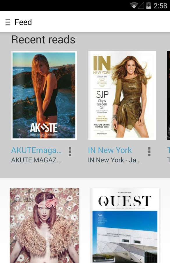 Issuu: 15mil+ Free Magazines - screenshot