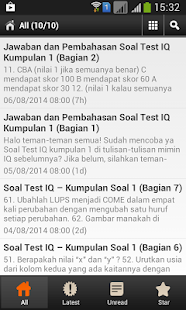 Soal Test IQ- screenshot thumbnail