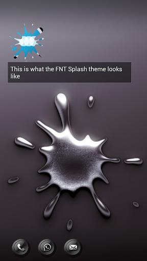 Splash - FN Theme