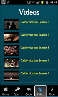Californication Trivia- screenshot thumbnail