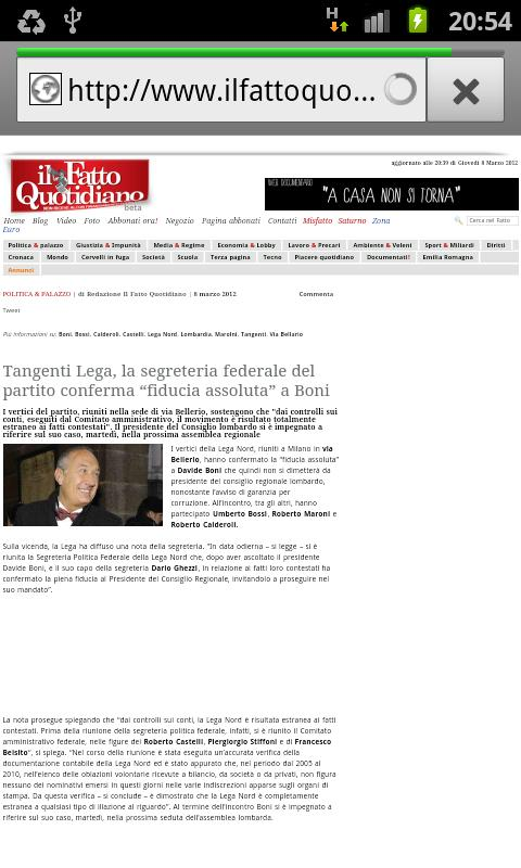 Il Fatto Quotidiano - screenshot