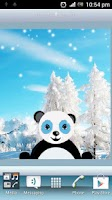Screenshot of Snowfall Panda HD Live WP