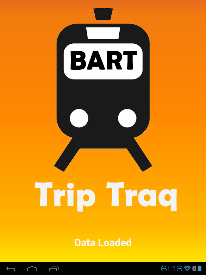Trip Traq BART- screenshot