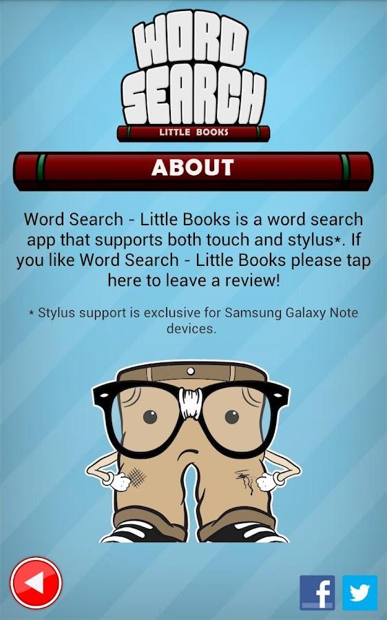 Word Search Little Books - screenshot
