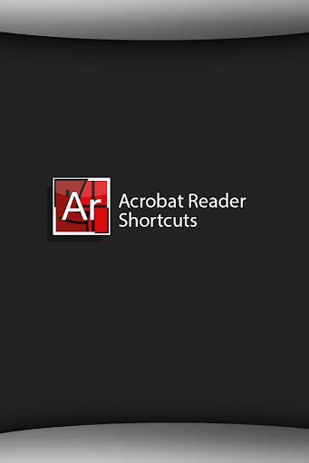 Shortcuts Acrobat Reader