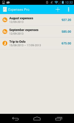 Expenses Pro