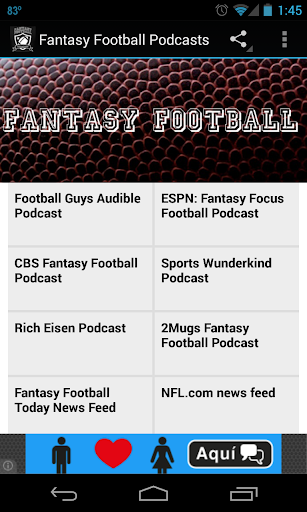 Fantasy Football Podcasts