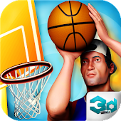 3D Real Basket Ball Mania