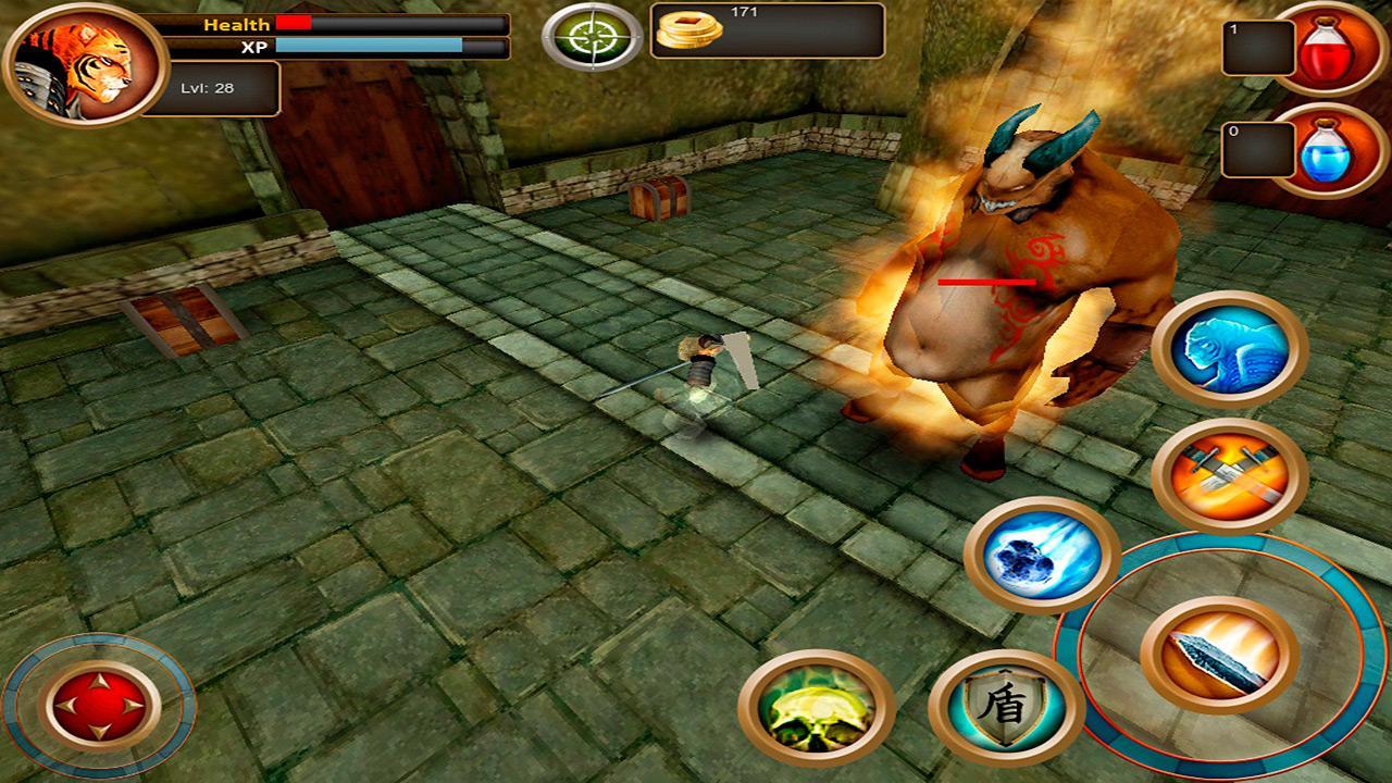 Samurai Tiger- screenshot