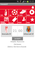 Screenshot of Granada CF