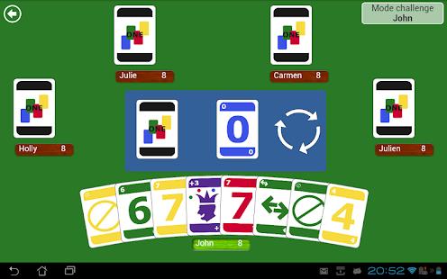 ONE - Jeux de cartes