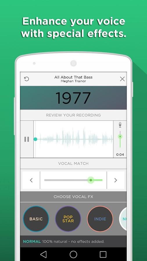 Sing! Karaoke by Smule - screenshot