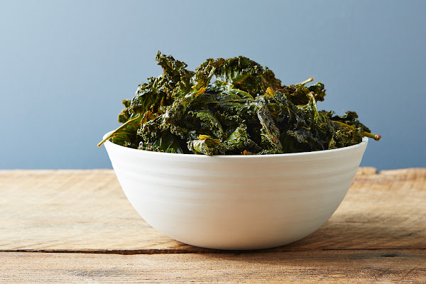 Spicy, smoky kale chips to fit your cravings.
