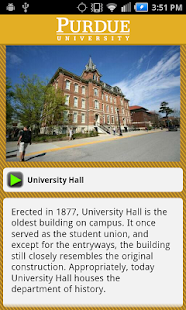Purdue University Campus Tour - screenshot thumbnail