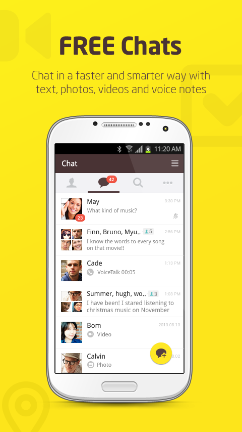 Download KakaoTalk: Free Calls & Text for Android Devices Free