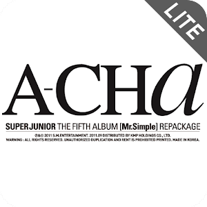 SUPER JUNIOR <A-CHa> Lite