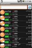 Screenshot of Avilution QuickWeather