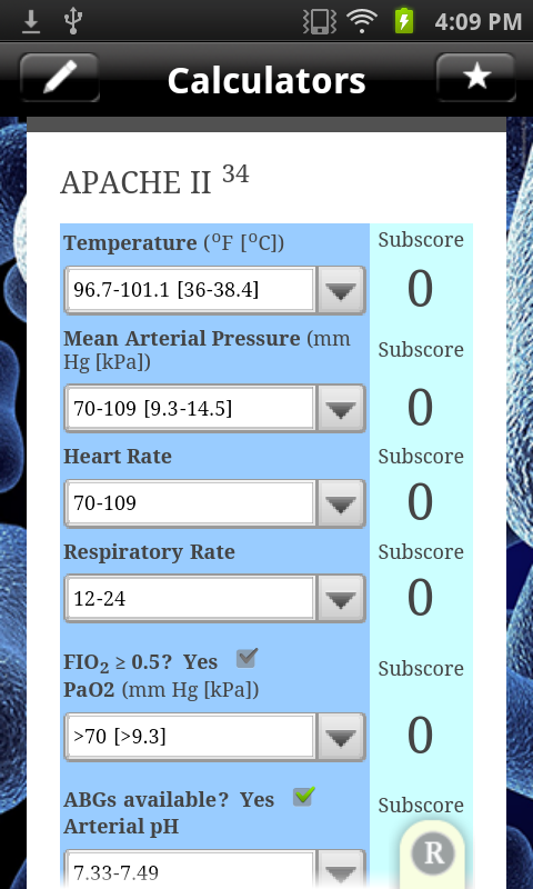 Sepsis Clinical Guide - screenshot