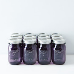 Purple Ball American Heritage Collection Pint Mason Jars (Set of 12) PRESALE