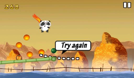 Panda Jump Happy
