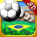 Brazil Doodle 3D Soccer icon