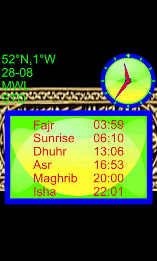 Salah Prayer Times Qibla