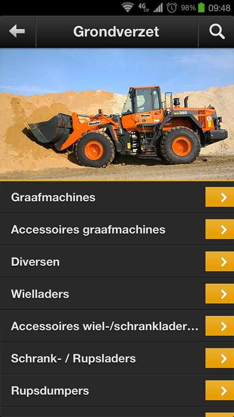Boels Rental- screenshot