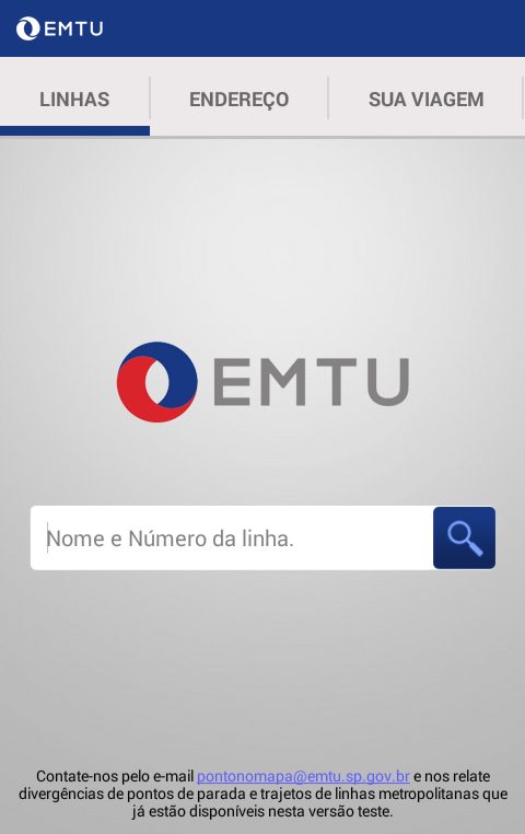 EMTU Oficial- screenshot