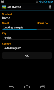 Voice Commands for Navigation - screenshot thumbnail