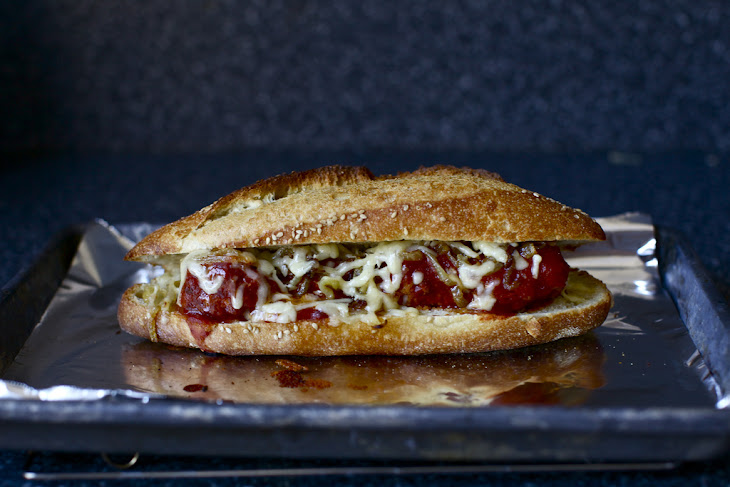 Meatball Subs with Caramelized Onions Recipe