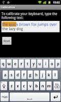 Screenshot of Portuguese for Smart Keyboard