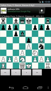 Free Chess PGN Browser- screenshot thumbnail